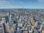 Manhattan vom Empire State Building